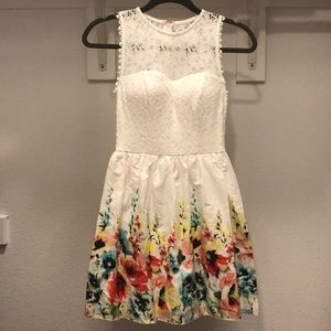 Speechless Easter Sunday/ Spring Floral Lace Dress